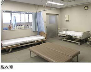 介護老人保健施設 手取の里 通所リハビリ 入浴 脱衣室